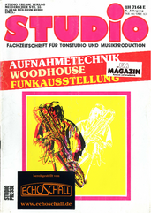 [Translate to Englisch:] Studio Magazin Heft 66-Woodhouse Studio-Recording Brass-50 Jahre Rohde & Schwarz