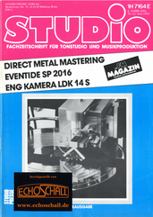 [Translate to Englisch:] Studio Magazin Heft 62-Test Eventide SP2016-Direct Metal Mastering