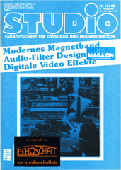[Translate to Englisch:] Studio Magazin Heft 65-Valley People 610-Test Ashly SC-33-Modernes Magnetband