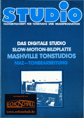 [Translate to Englisch:] Heft 21-Mashville_Tonstudios-Slow_Motion_Bildplatte-