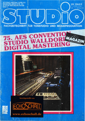 [Translate to Englisch:] Studio Magazin Heft 71-Studio Walldorf-Digital Mastering