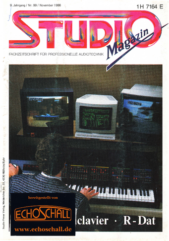 Studio Magazin Heft 99-NED Synclavier-Test EMT 246 Hall-Tom Müller-Hansa