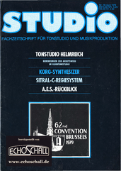 [Translate to Englisch:] Heft 16-Tonstudio Helmreich-Korg Synthesizer