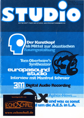 [Translate to Englisch:] Kunstkopf-Oberheim Synthesizer-Europasound-Studio