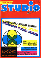 [Translate to Englisch:] Studio Magazin Heft 91-Ambisonics Sorround System-Lexicon 224XL-AMS RMX16
