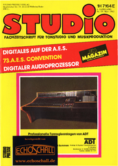 [Translate to Englisch:] Studio Magazin Heft 59-dbx 700-digitale Hallsysteme
