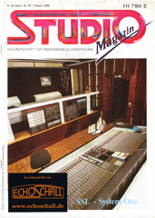 [Translate to Englisch:] Studio Magazin Heft 97-Solid State Logic SL 4000 E-Massenburg Para EQ 8200